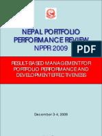 NPPR 2009 Report