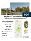 Hagginwood Community Park Clean Up