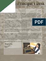 Principals Letter