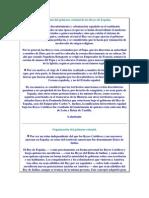 Fundamento del gobierno colonial de los Reyes de España