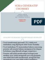 Kerangka Generatif Chomsky (Iankaka')