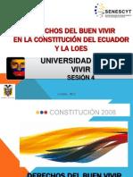 DERECHOS EN LA CONSTITUCIÓN