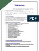Informe de Control de Pozo (Metodo Esperar y Densificar)