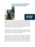 Monumento a La Paz en Guatemala