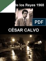 César Calvo - Ciudad de los Reyes 1968 - poesía