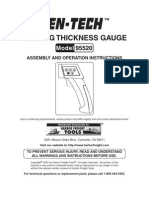 CENTECH Coating Thickness Gauge Manual