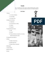 Karate - Trabajo Universidad