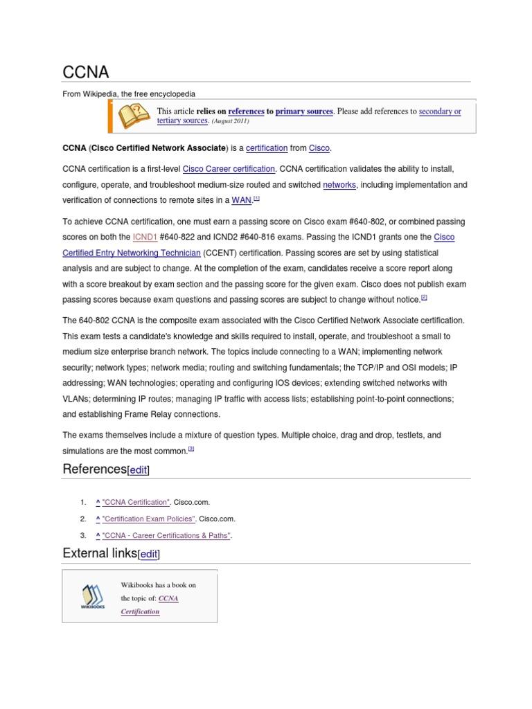Ccna Cisco Certifications Digital Technology