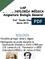 1º CLASE BIOLOGIA 2013