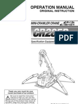 araña3CR285DME_Eng_MANUAL-DE-OPERACION | Switch | Engines