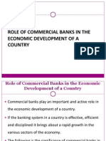 Commercial Banks` Role in the Economic Development