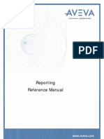 Reporting Reference Manual