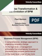 Transformacion Empresarial y Evolucion BPM