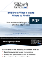 Evidence Powerpoint