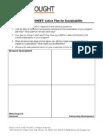 Sustainability 5 - Action Plan