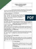 Evaluative Act # 2 Homework 11th Grade