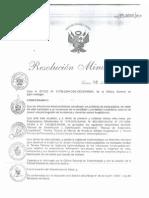 NORMA TÉCNICA DE VIGILANCIA EPIDEMIOLÓGICA DE LAS INFECCIONES INTRAHOSPITALARIAS