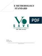 VALUE METHODOLOGY STANDARD
