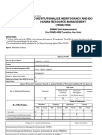 Copy of Prime Hrm Form 2 Hrmo Self Assessment Mar 20