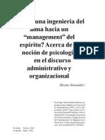 35-(03) Desde La Ingenieria Del Alma Hacia Un Magnagement Del Espiritu (Hector Bermudez)