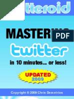 Guía sobre Twitter