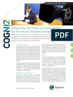 Embracing the Power of Social Media for Broadcast Business Insight