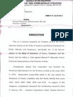 Ombudsman junks Jepoy Celiz complaint versus Boy Mejorada