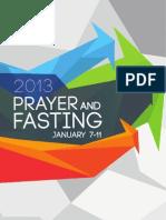 Fasting Manual 2013
