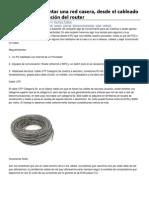 Guía de cómo montar una red casera