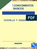 Manual Cuchilla Esquineros Komatsu