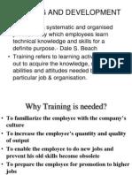 Training and Developmentgt Ppt