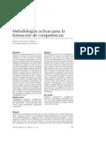 Fernández, A. Metod. activas y competencias
