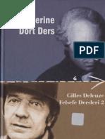 Kant Uzerine Dort Ders Gilles Deleuze