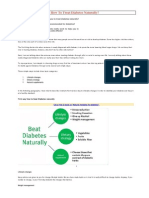How To Treat Diabetes Naturally.docx