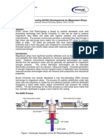 Direct Chill Rheocasting (DCRC) Developments for Magnesium Alloys