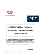 Projet Mission Visa Exe Synt Mai 2008