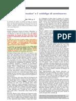 """Il prof. Pietro Omodeo scrive a """"Le Scienze"""" lamentando i problemi dell'evoluzionismo"""