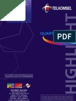 Report Q2 telkomsel 2008