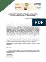 NORMA CULTA - NORMA PADRÃO