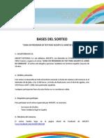 BASES LEGALES SORTEO ARISOFT EDITORIAL