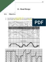 Road Design in AutoCAD