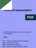 Dissaster Management