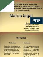 Expo Sic Ion de Marco Legal