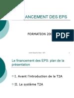 Financement des Etablissement de Santé Public PWP-T2A