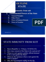 State Immunity From Suit