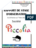 Stage Observation Piccoli A