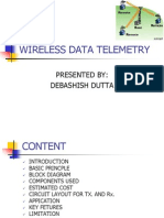 WIRELESS DATA TELEMETRY BY DEV.ppt