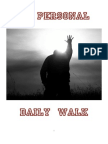 Devotional My Personal Walk