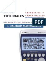 Tutorial Casio Matematica
