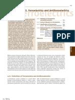 ferroelectrics and anti-ferroelectrics